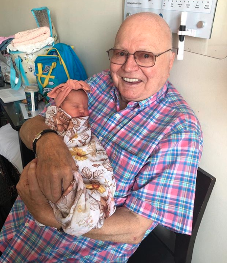 As Bert gets more 'frail', family comes first. Photo: Instagram/pattinewtonofficial