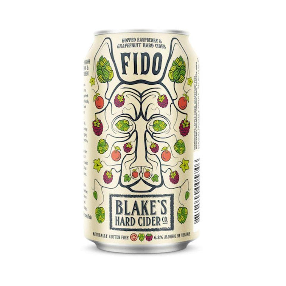"""<p><strong>Blake's</strong></p><p>Total Wine</p><p><strong>$10.99</strong></p><p><a href=""""https://www.totalwine.com/beer/cider/other-fruit-cider/blakes-fido/p/224150121"""" rel=""""nofollow noopener"""" target=""""_blank"""" data-ylk=""""slk:Shop Now"""" class=""""link rapid-noclick-resp"""">Shop Now</a></p><p>First, let's talk taste. Raspberry + grapefruit + hops = thirst-quenching deliciousness that's certainly cider, but challenges your expectations of cider at the same time. Not only is it great on its own, but Blake's also encourages you to use FIDO in cocktails, like the tequila-and-simple-syrup concoction the """"Good Boy"""" (reader, we can report: it's good). But let's also talk about Blake's Kinder Cider Series, which uses new releases to raise awareness and funding for deserving non-profits. The profits from FIDO help support Pets For Patriots, an organization that pairs veterans and shelter animals, so you're not only enjoying a top-notch hard cider, but you're doing a good deed as well. </p>"""