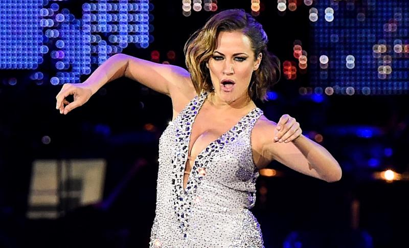 Caroline Flack tragically took her own life at the age of 40 in February this year. (AP)