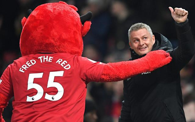 Ole Gunnar Solskjaer is looking forward to taking on derby rivals Manchester City - Getty Images Europe