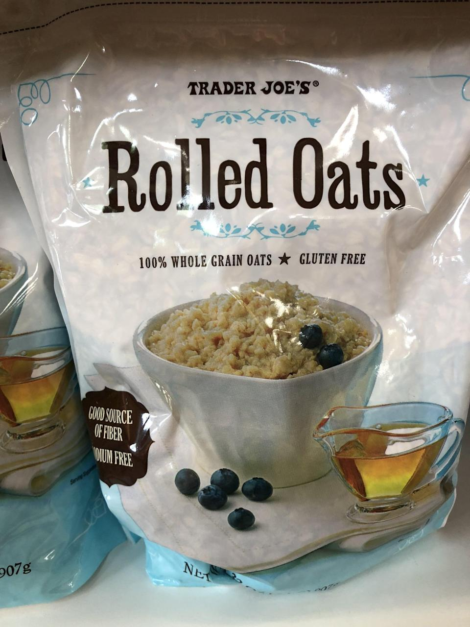 <p>Make a week's worth of overnight oats with a bag of this or cook up some protein bars to use as snacks for the week.</p>