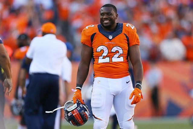 "Can <a class=""link rapid-noclick-resp"" href=""/nfl/players/26878/"" data-ylk=""slk:C.J. Anderson"">C.J. Anderson</a> lead Denver's RBBC? (Photo by Justin Edmonds/Getty Images)"