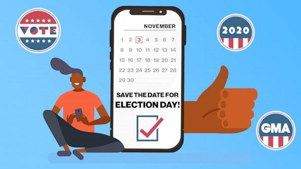 Save the date for election day! (ABC News Photo Illustration)
