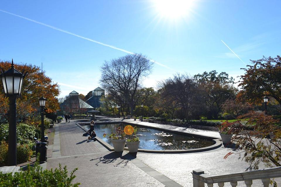 <p>Hidden in the hippest borough of the concrete jungle, the urban Eden known as the Brooklyn Botanical Gardens are a must-visit. In the spring and summer, the garden bursts to life with Japanese cherry blossoms, offering a refreshing natural respite in the city.</p>