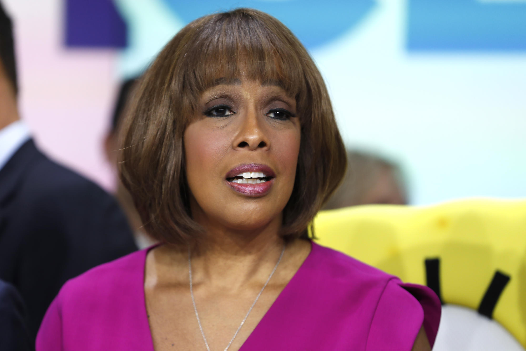 Gayle King praised for 'relatable' post about putting on pounds during quarantine as she shares scale photos: 'The weight struggle is real!'