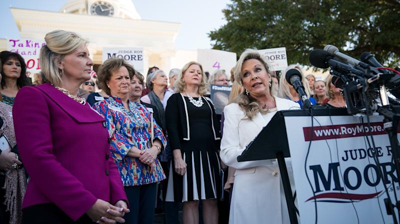 Roy Moore's Wife Calls Out 'Liberal Press' For 'Attacking' Her Husband