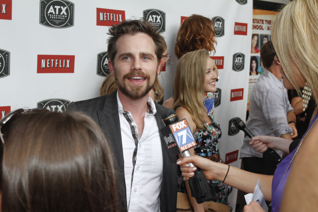 Rider Strong attends the ATX Television Festival on Thursday, June 6, 2013 in Austin, Texas.