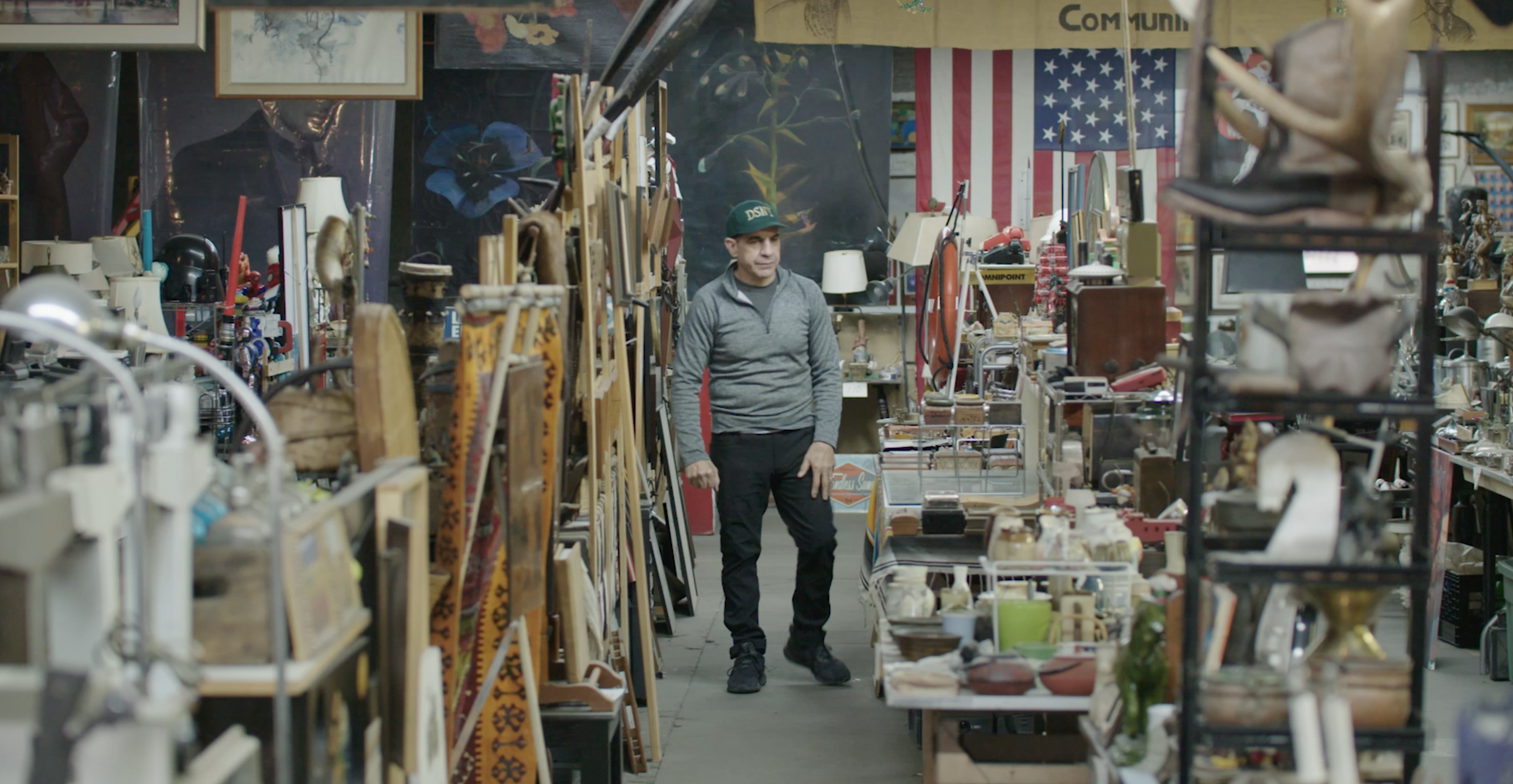 """Nelson has amassed around 45,000 items in his """"Treasures in the Trash"""" collection from over three decades as a sanitation worker."""