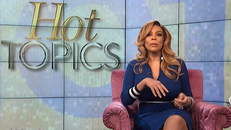 Wendy Williams Breaks Down During Talk Show Finale, Says This Season Has Been 'Hell' Amid Divorce