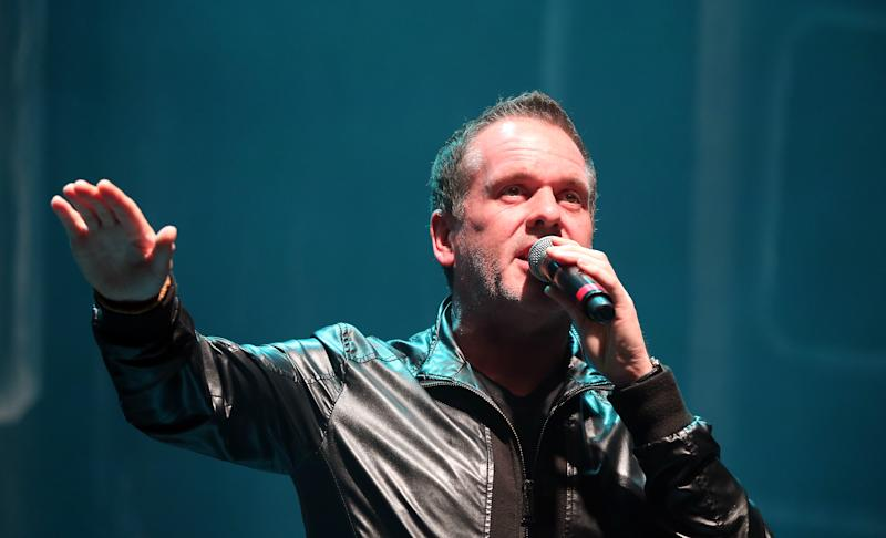 Chris Moyles on stage at the Radio X Road Trip Show held at the O2 Apollo in Manchester. PRESS ASSOCIATION Photo. Picture date: Wednesday December 2, 2015. Photo credit should read: Martin Rickett/PA Wire