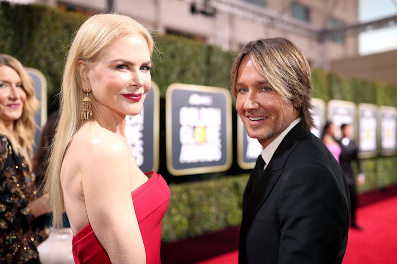 Actor Nicole Kidman and singer Keith Urbandonated $500,000 toward rural fire services. (Photo: Christopher Polk/NBC via Getty Images)