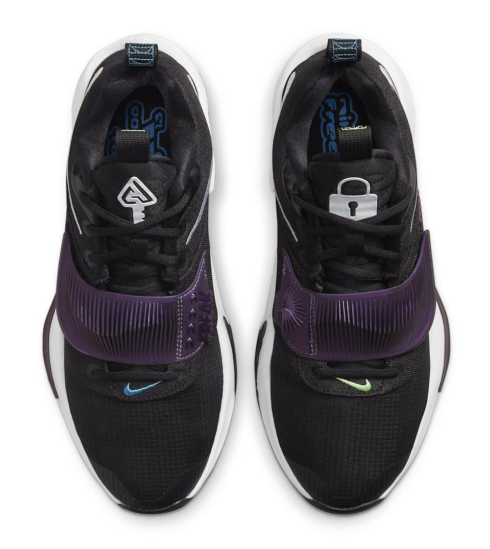 """A top-down view of the Nike Zoom Freak 3 """"Project 34."""" - Credit: Courtesy of Nike"""