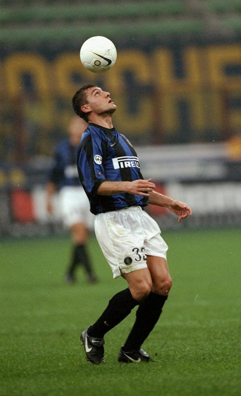 <p><b>Christian Vieri</b><br><b>1999:</b> Lazio to Inter for £32.1m </p>