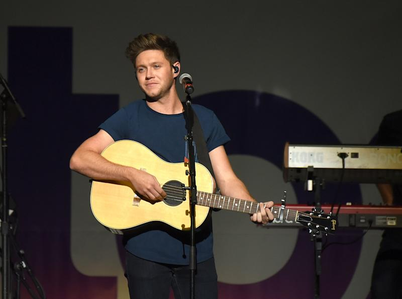 SAN JOSE, CA - DECEMBER 02: Niall Horan performs during the 99.7 NOW! POPTOPIA at SAP Center on December 2, 2017 in San Jose, California. (Photo by C Flanigan/FilmMagic)