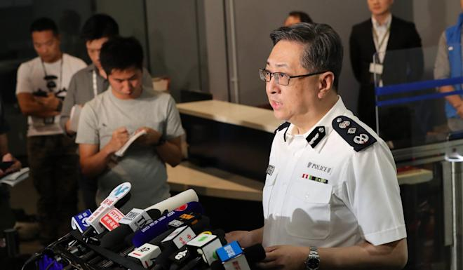 Police chief Stephen Lo is expected to retire in a month. Photo: Xinhua