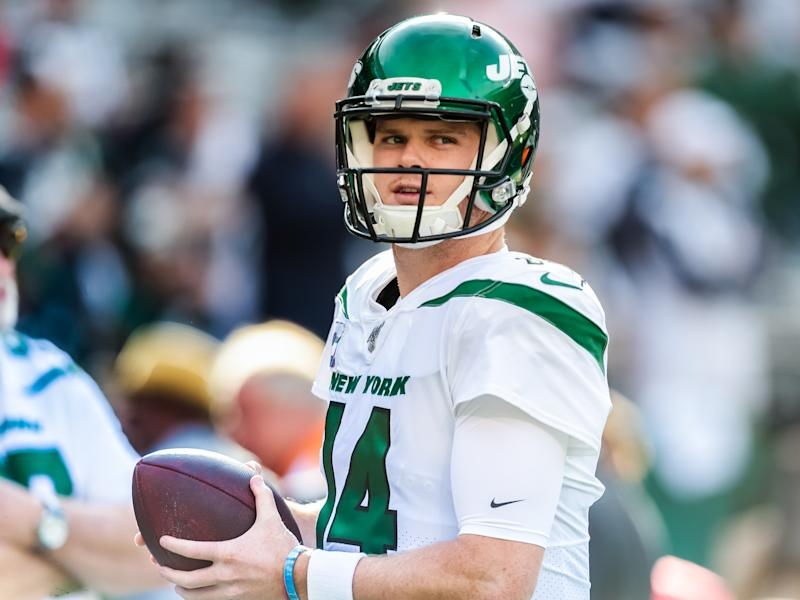 Sam Darnold is 'seeing ghosts' in Jets-Patriots blowout