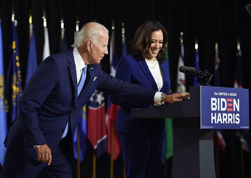 Biden and Harris to address Democratic convention from Delaware
