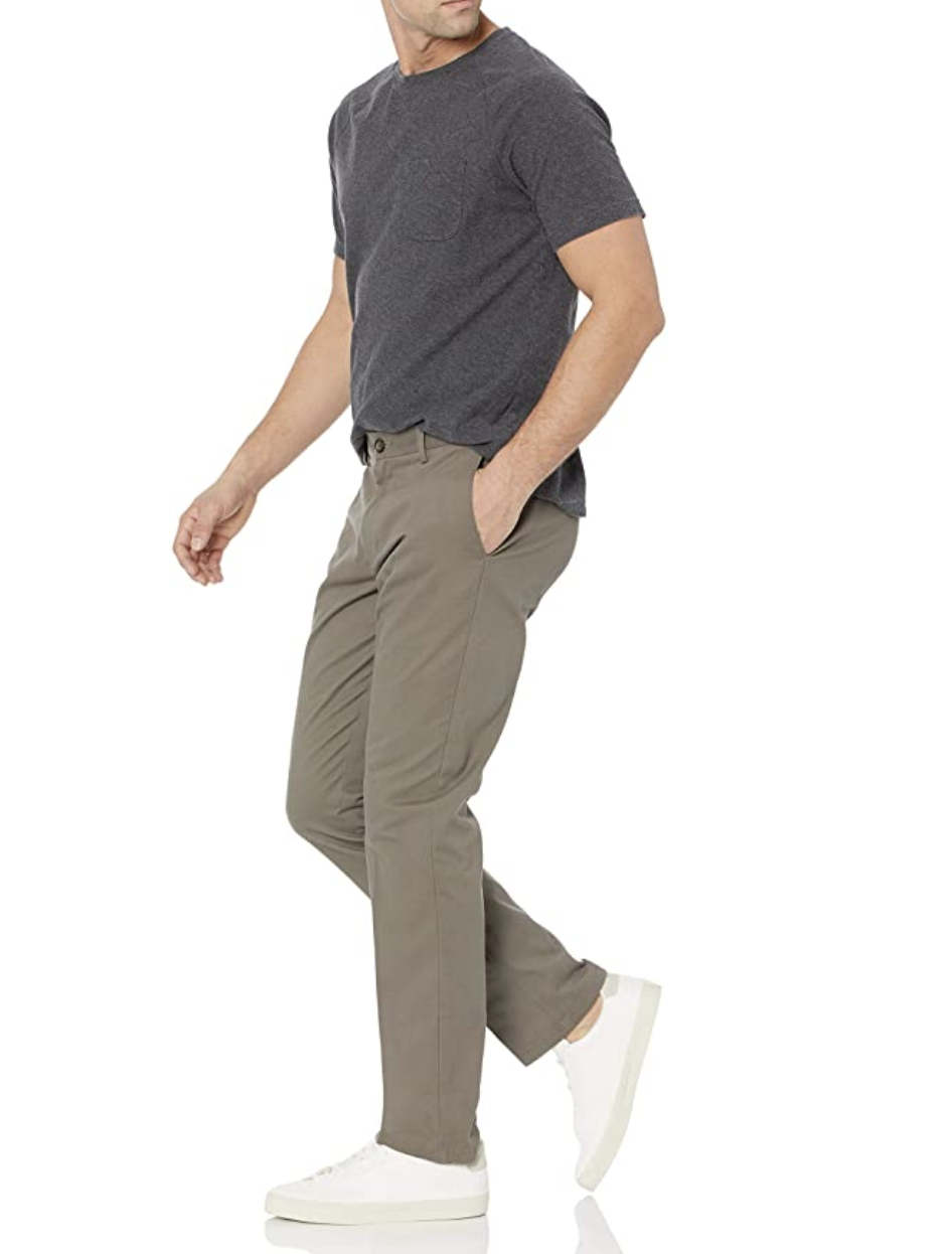 Amazon Essentials Slim-Fit Wrinkle-Free Chinos.