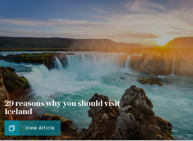 29 reasons why you should visit Iceland