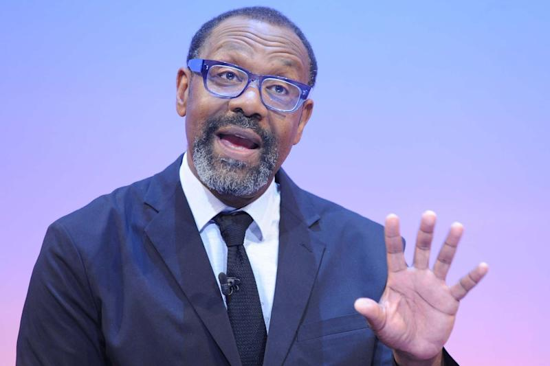 Sir Lenny Henry speaking at the Royal Television Society Cambridge Convention on 20 September, 2019: Richard Kendal/RTS/PA Wire