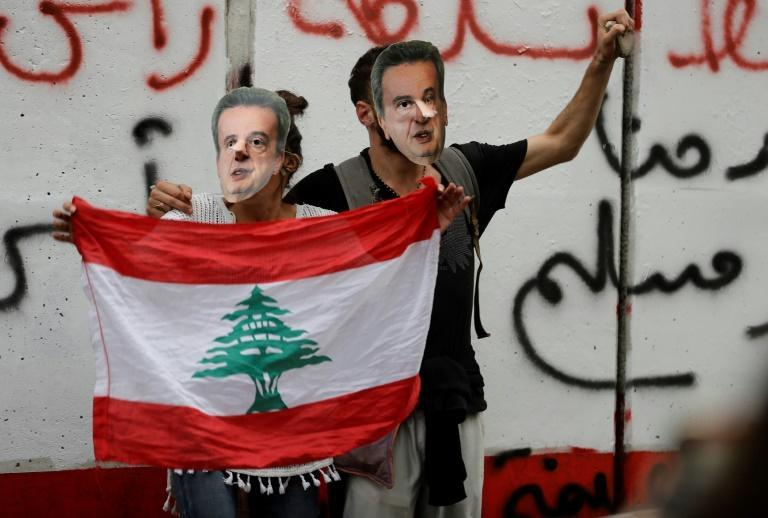Protesters have targetted Salameh for his handling of Lebanon's economy