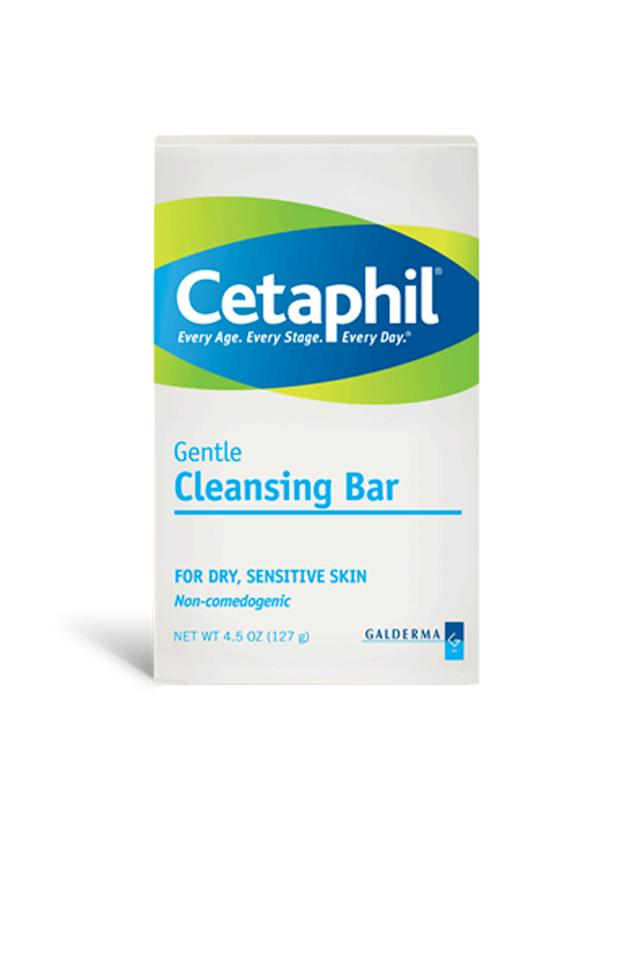 """<div class=""""caption-credit""""> Photo by: Courtesy of Cetaphil</div><div class=""""caption-title"""">Take a cool shower</div>Slightly chilly water soothes hot-to-the-touch skin. Use a gentle soap to remove sunscreen (you wore some, right?), sweat, and pool water or salt water, which can further irritate extra-sensitive burns. <p>  Cetaphil Gentle Cleansing Bar, $4.79; <a rel=""""nofollow"""" href=""""http://www.drugstore.com/products/prod.asp?pid=16632&catid=182285&aid=338666&aparam=goobase_filler&device=c&network=g&matchtype="""" target=""""_blank"""">drugstore.com</a> </p><b>MORE ON ELLE.COM: <br> <a rel=""""nofollow"""" target="""""""" href=""""http://www.elle.com/beauty/makeup-skin-care/hustle-glow-brightening-tips-563048?link=rel&dom=yah_life&src=syn&con=blog_elle&mag=elm"""">Brightening Tips for Luminous Skin, Teeth, and Hair</a> <br> <a rel=""""nofollow"""" target="""""""" href=""""http://www.elle.com/beauty/makeup-skin-care/how-to-cure-adult-acne-580446?link=rel&dom=yah_life&src=syn&con=blog_elle&mag=elm"""">Tips for Treating and Curing Adult Acne</a> <br></b>"""