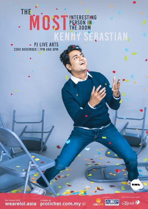 Having toured across USA, Canada, Australia and India, Kenny Sebastian is hitting Asia next, which includes a one-night only stop in Malaysia.