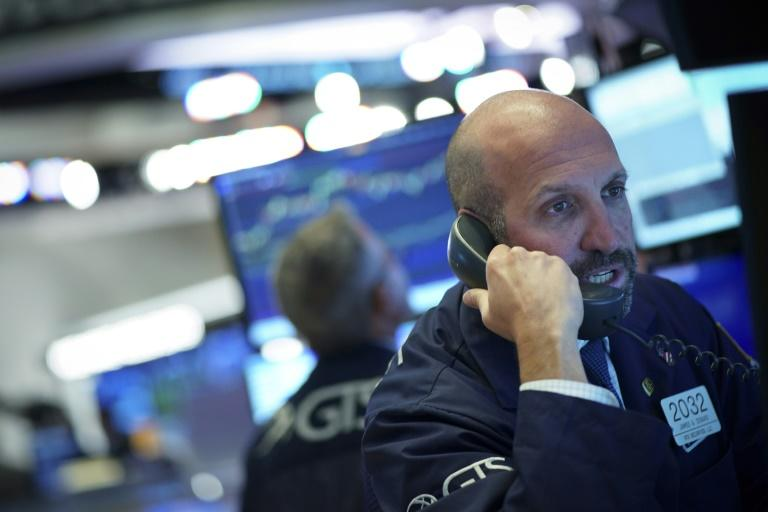 The yield curve 'is not saying anything nice' (AFP Photo/Drew Angerer)