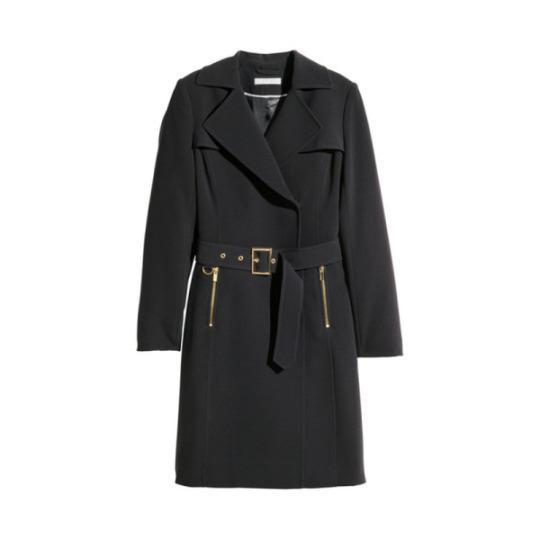 <p><span><b>Belted Trench Coat</b></span>, H&M $70</p>
