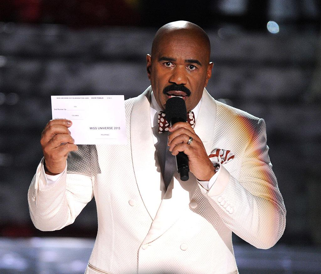 Steve Harvey Miss Universe 2015 mistake