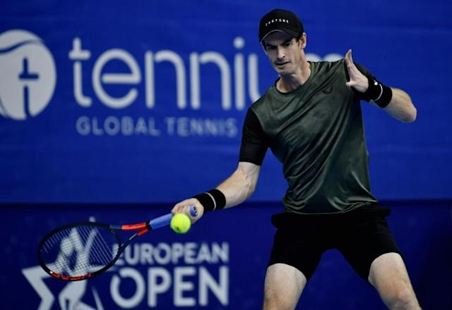 Andy Murray doesn't want tennis chiefs to rush back after the coronavirus (AFP Photo/ERIC LALMAND)