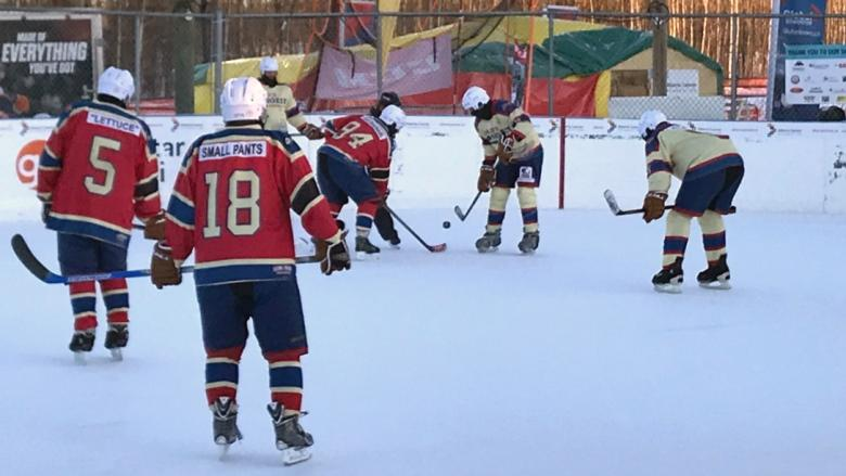 'It's all for cancer': Alberta players on verge of new longest hockey game world record