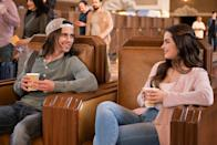 """<p>In this gender-swapped remake of 1999's<strong> She's All That</strong>, a popular high schooler (played by TikTok star Addison Rae) attempts to give a dorky classmate (played by <strong>Cobra Kai</strong>'s Tanner Buchanan) a transformative makeover.</p> <p><strong>When it's available: </strong><a href=""""http://www.netflix.com/title/81446038"""" class=""""link rapid-noclick-resp"""" rel=""""nofollow noopener"""" target=""""_blank"""" data-ylk=""""slk:Aug. 27"""">Aug. 27</a></p>"""