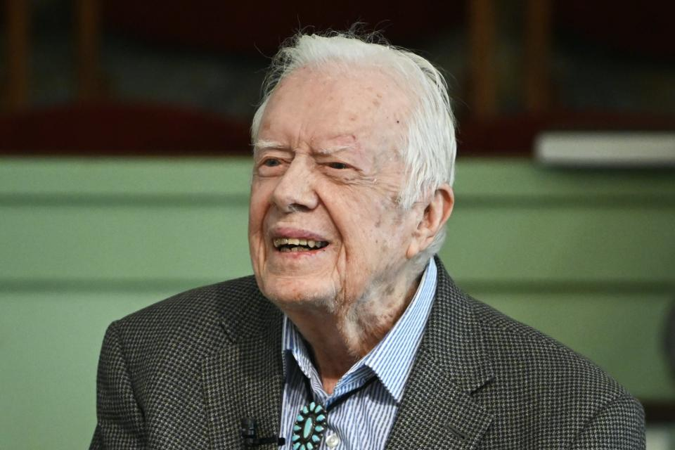 Jimmy Carter sourit