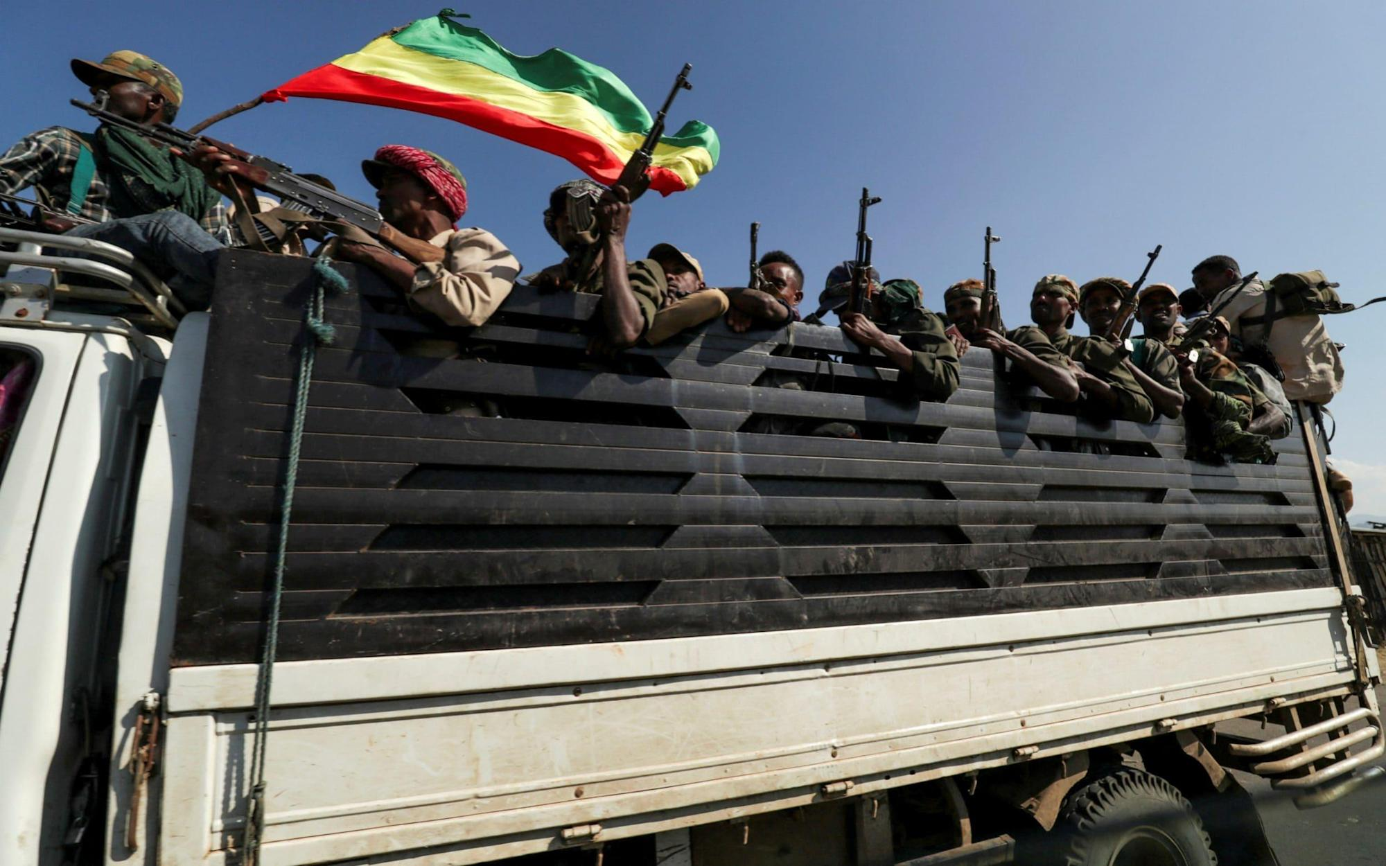 Hundreds of Ethiopians 'hacked to death' as civil conflict spirals out of control