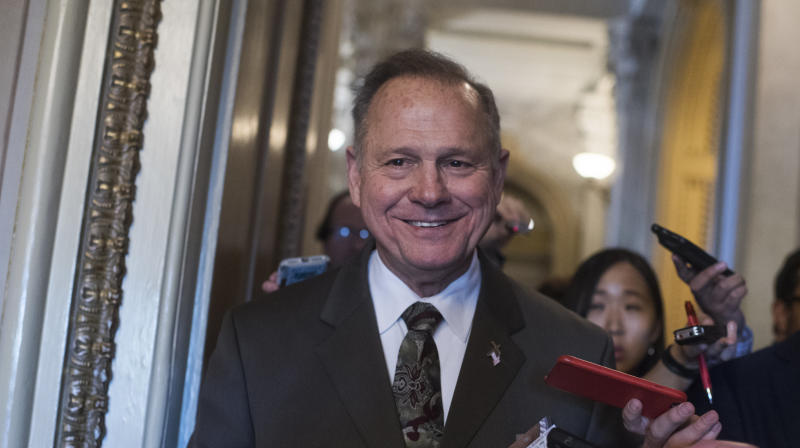 Roy Moore Says Religious Liberty 'Comes From God,' Not The Constitution