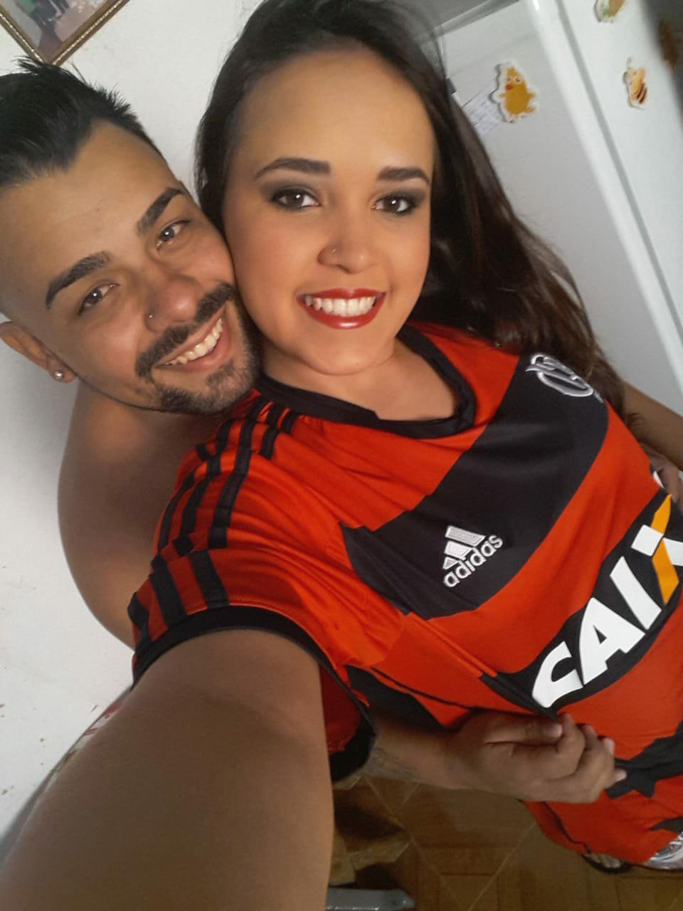 Picture shows Christhopher Anthony Tavares Coelho (27) and Leticia Lopes Fonseca (19) for which the jury delivered a guilty verdict in the Brazilian municipality of Pocos de Caldas, 5th March.
