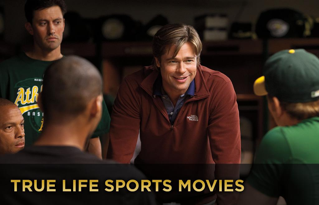 """With """"<a href=""""http://movies.yahoo.com/movie/1810166670/info"""">Moneyball</a>"""" opening this weekend, check out these other sports movies based on true stories."""