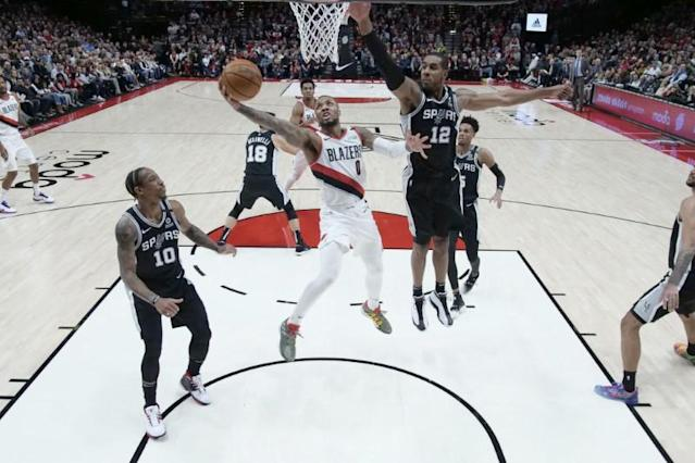 NBA: San Antonio Spurs at Portland Trail Blazers
