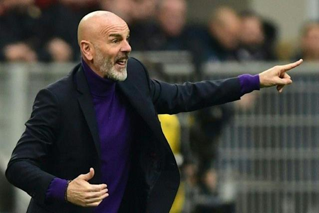 Former Inter Milan coach Stefano Pioli has agreed a two-year deal to coach rivals AC Milan. (AFP Photo/Miguel MEDINA)