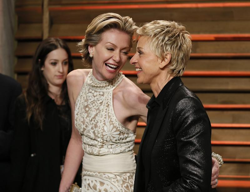 Ellen DeGeneres and Portia de Rossi Divorce: Jennifer Aniston Helps Couple After Rehab and Cheating Rumours