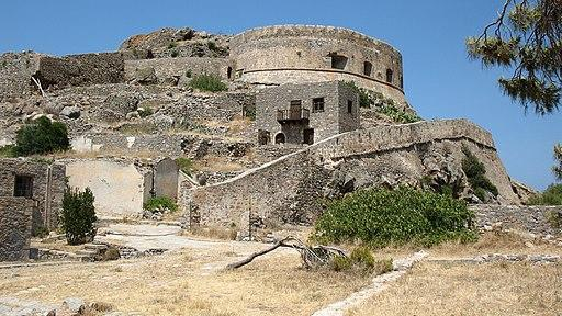 The Spinalonga Leper Colony in Greece housed people suffering from leprosy. Image credit: Kiriakos Gogopoulos / CC BY (https://creativecommons.org/licenses/by/3.0)