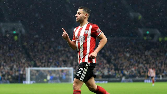 George Baldock cancelled out Son Heung-min's opener as Sheffield United claimed a deserved draw against a lacklustre Tottenham.