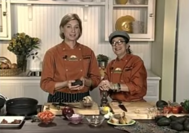 <p>The two chefs who headlined this show were longtime friends off the set, and it showed: They had more fun than most other stand-and-stir television cooks while making modern Mexican recipes. Until a year ago, they even ran a California restaurant that fans could visit after the show ended.<br></p>