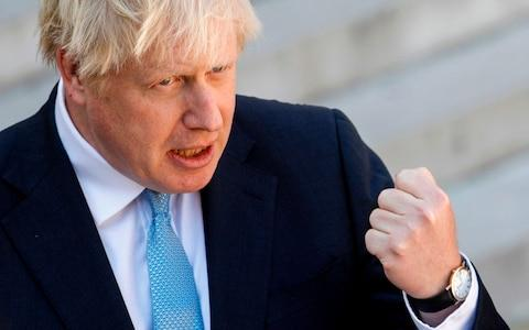 Boris Johnson - Credit: GEOFFROY VAN DER HASSELT/AFP