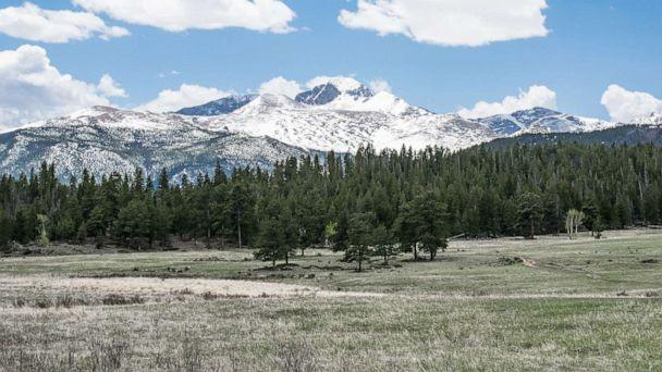 PHOTO: The entrance landscape of the natural hiking trail Upper Beaver Meadows provides a view of the mountains in Rocky Mountain National Park in Colorado. (STOCK PHOTO/Shutterstock)