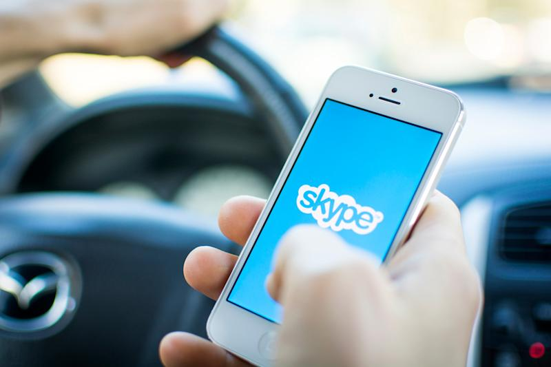 You may soon make calls, send texts, manage contacts through a Skype app