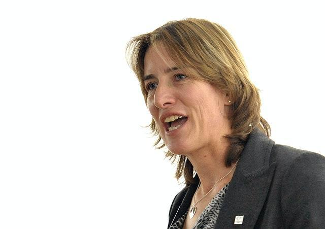 Former Olympic champion Dame Katherine Grainger is now the chair of UK Sport