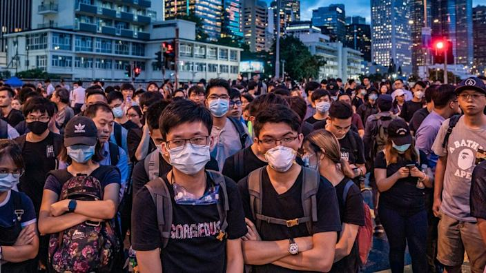 Protesters took part in months of demonstrations last year