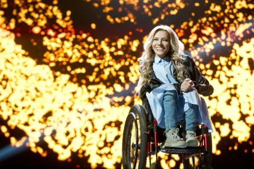 For this year's contest Russia once again picked Yuliya Samoilova -- who performed at the opening ceremony to the 2014 Sochi Winter Paralympics -- to represent the country